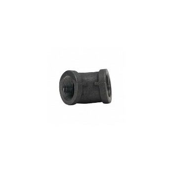 3/4 Black 45 Elbow
