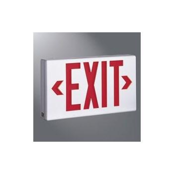 Cooper Lighting - Regent LPX7 Wh Exit Light