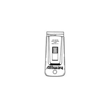 Allway SGS Soft Grip Stl Glas Scraper