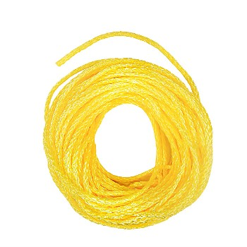 "Hollow Braided Polypropylene Rope, 1/4 "" x 50 feet"