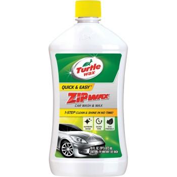 Turtle Wax T75 Car Wash Zip Wax, 16 Oz