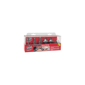 Router Bit Set - 6 piece