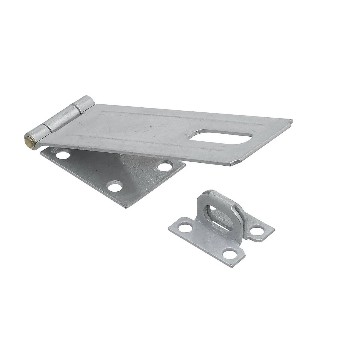 Galvanized Finish Safety Hasp ~  6""