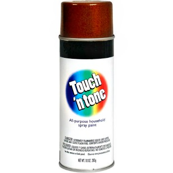 Touch 'N Tone Spray Enamel Leather Brown