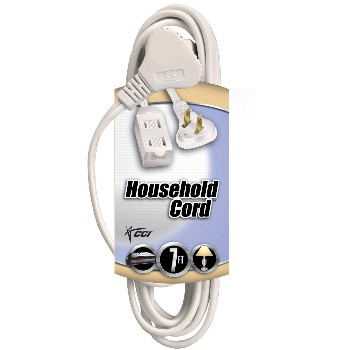 Indoor Extension Cord - Slenderplug - 7 feet