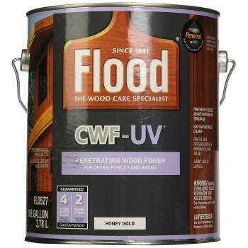 PPG/Akzo FLD527-01 FLood CWF-UV Pro Series Deck & Siding Stain,  Honey Gold  ~  Gallon