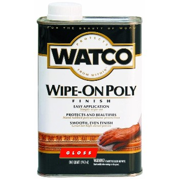Wipe On Poly Gloss Finish ~ Quart