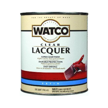 Watco  Satin Lacquer Finish, Quart