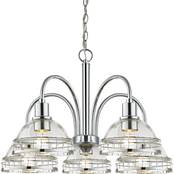 Chrome 5lt Chandelier