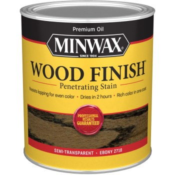 Wood Finish - Ebony, Quart