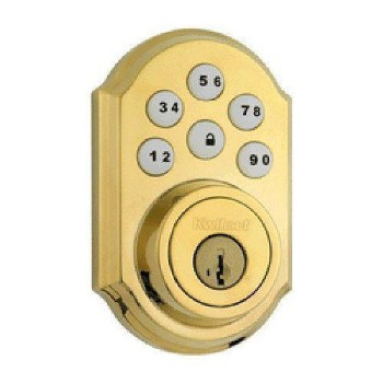 Smartcode Deadbolt ~ Brass Finish