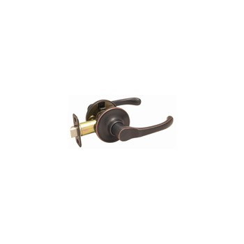 Hardware House/Locks 424192 Passage Lever Lock, Greystone