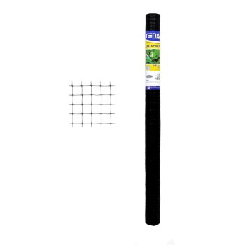 Tenax Corp 2A140066 Plant and Pond Critter Protection Net, Black ~ 7 Ft x 100 Ft