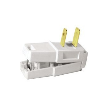 White Easy Wire Plug