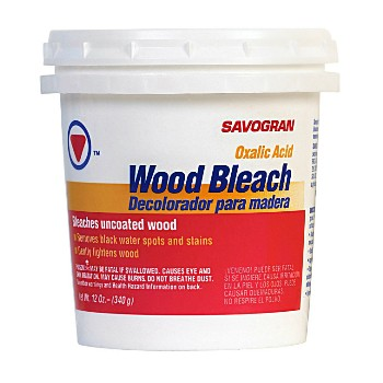 Wood Bleach, Concentrated ~  12 ounces