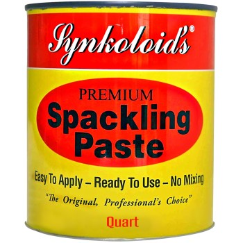 Synkoloid  Spacking Paste,  Interior ~ Quart