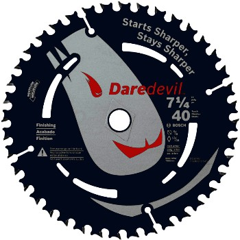 "Saw Blade, 7-1/4"" - 40 Tooth"