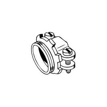 Entrance Cable Connector, Oval 3/4 inch