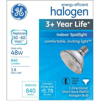Spotlight, Indoor Halogen PAR30 ~ 48 W