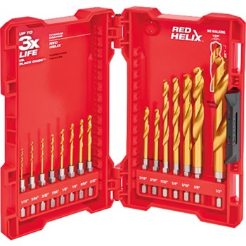 15pc Tin Bit Set