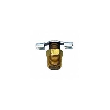 Anderson Metals 59432-06 Drain Cock - Brass - 3/8 inch