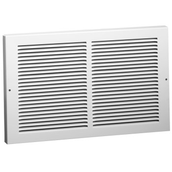 "Baseboard Return Air  Grille, White ~ 6"" x 30"""