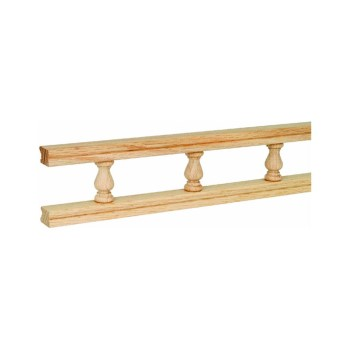 Waddell 550-4 Galley Rail, Maple ~ 48""