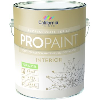 California Prod/grayseal 51019-1 Linen White Paint, Semi Gloss ~ Gallon