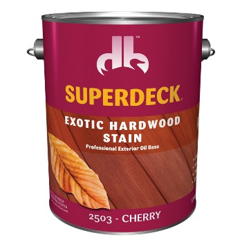Exotic Hardwood Stain,  Cherry ~ 1 Gallon