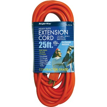 H Berger Co 150120 R3125 12/3 25ft. Or Outdoor Cord