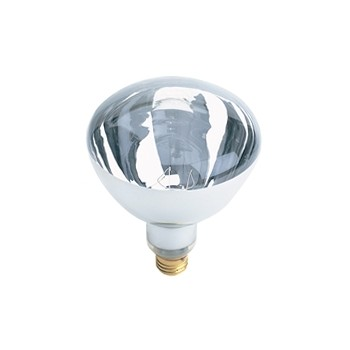 Heat Lamp  Clear  120 Volt 125 Watt