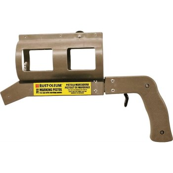 Rust-Oleum 210188 Industrial Choice Marking Spray Paint Pistol