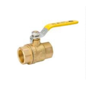 Brass Ball Valve - 1-1/2 inch