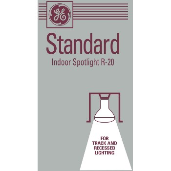 General Electric  46848 Spotlight Bulb - R20 - 30 watt