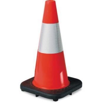 "Jbc Safety Plastics, Inc. RS70032CT3M64 Traffic Cone, Orange PVC ~ 28"""