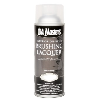 Brushing Lacquer Spray ~ Gloss