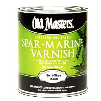 Spar Marine Varnish, Semi-Gloss ~ Gallon