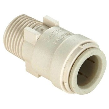 "Quick Connect Male Connector,  1/2"" CTS x 3/4"" MPT"
