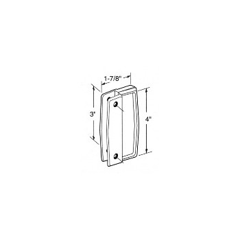 PrimeLine/SlideCo A111 Blk Sliding Door Pull