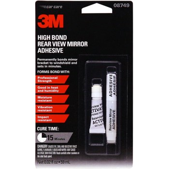 3M 08749 Rearview Mirror Glue