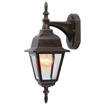 Outdoor Light Fixture - Wall Mount - Rust Patina