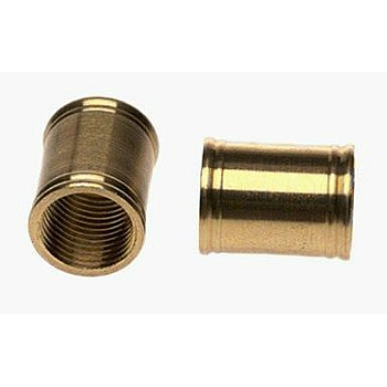 Couplings - Polished Brass - 1/8 inch
