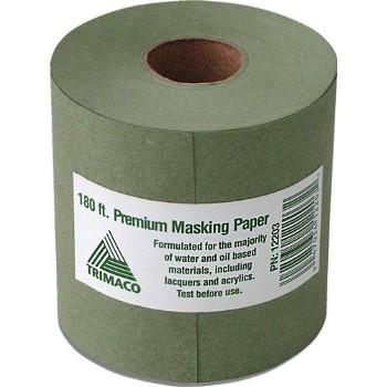 """Trimaco 12203 Masking Paper, Premium ~ 3"""" x 180 Ft."""