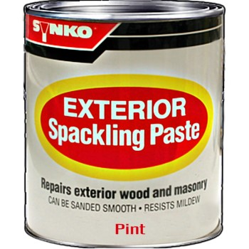 InkSolutions 1207 Synkoloid Spackle Paste, Exterior ~ Pint