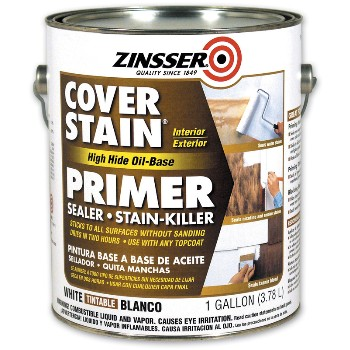 Cover Stain Primer, Tintable White ~ Gallon