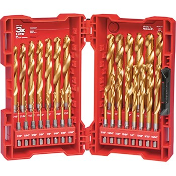 ShockWave Titanium Drill Bit Set ~ 23 Piece