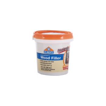 Elmers   E848D12 Interior/Exterior Wood Filler, 1/2 pint