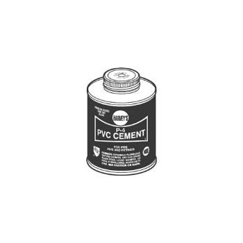 PVC Cement, P-4 Regular Body 1 Pint