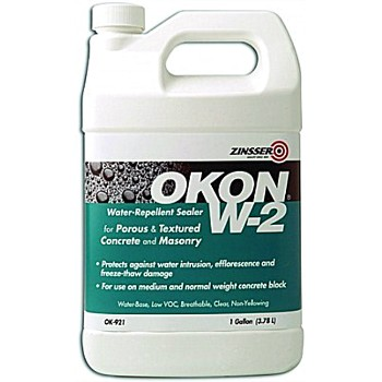 Okon W-2 Water Repellent Sealer - 1 Gallon