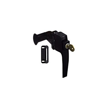 Black Pushbutton Latch, Visual Pack 1327